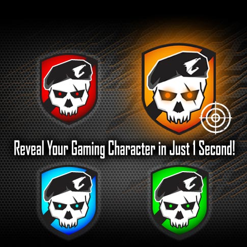 Reveal Your Gaming Character in Just 1 Second!