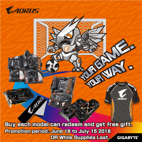 AORUS YOUR GAME YOUR WAY