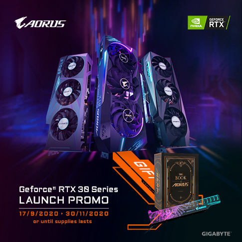 [PH] - GEFORCE RTX30 SERIES LAUNCH PROMO